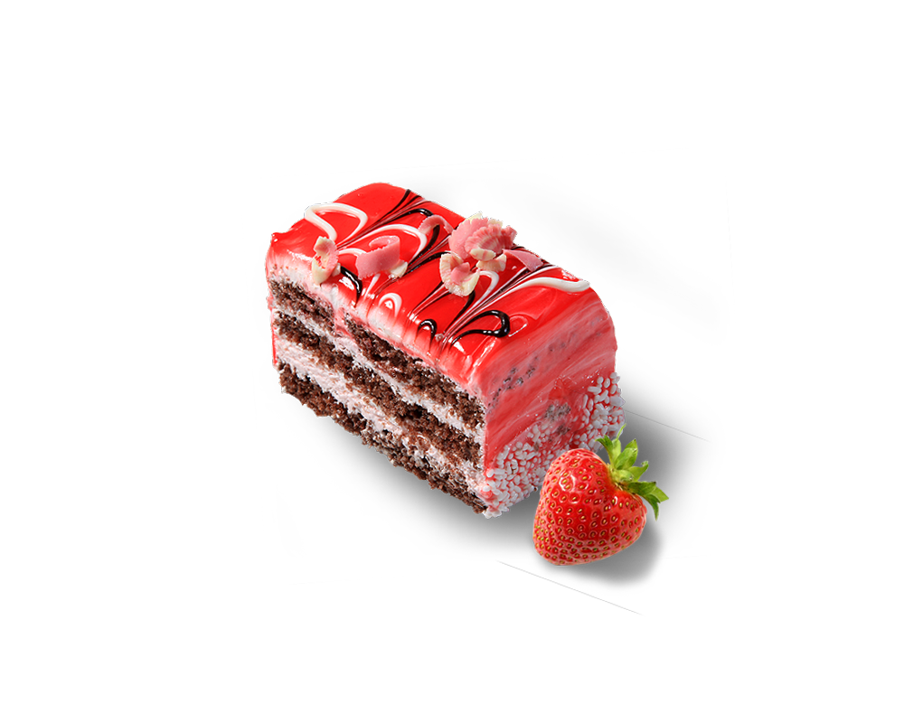 Strawberry Fields Cake